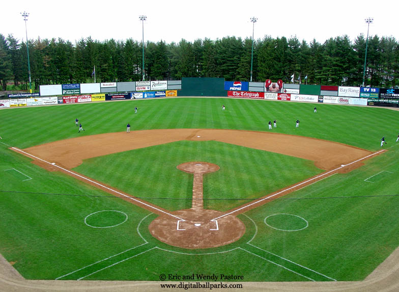 Holman Stadium - Nashua New Hampshire - Home of the Nashua Pride (Atlantic)