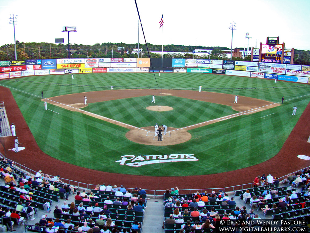Td Bank Ballpark Somerset New Jersey Home Of The