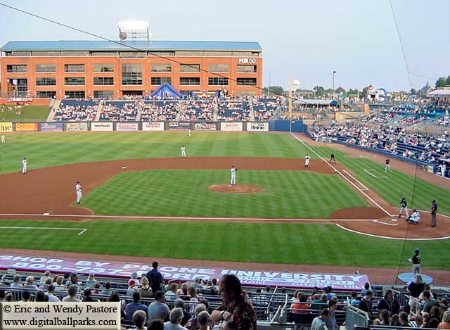 Durham Bulls Athletic Park Dbap Durham North Carolina