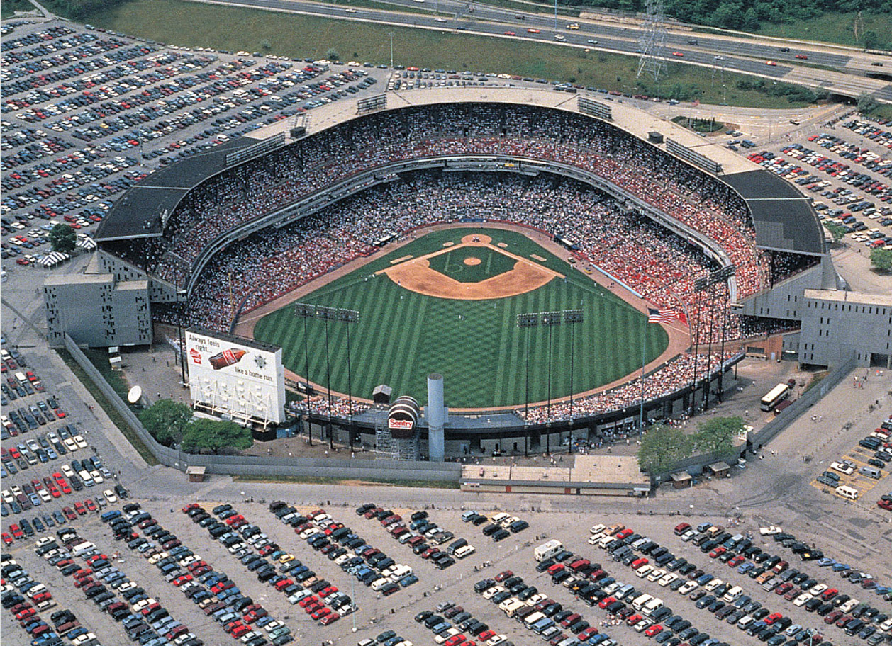 County Stadium - Milwaukee WIsconsin - Milwaukee Brewers ...
