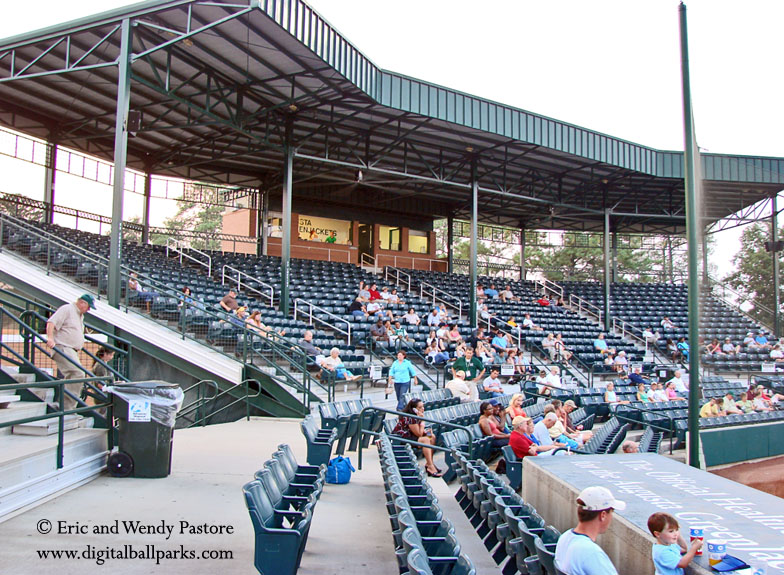 Lake Olmstead Stadium - Augusta Georgia - Home of the Augusta ...