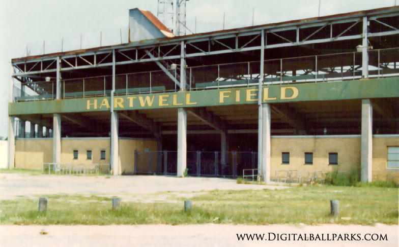 Hartwell Field - Mobile Alabama - Former Home of the Mobile Bears